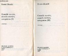 Contrôle Ouvrier, Conseils Ouvriers, Autogestion - Tome 2 + Tome 3 - Collection Poche Rouge N°5-6. - Mandel Ernest - 197 - History