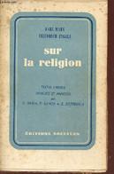 Sur La Religion. - Marx Karl & Engels Friedrich - 1960 - Religion