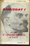 La Vérité N°546 Novembre 1969 - Samizdat I La Voix De L'opposition Communiste En URSS. - Collectif - 1969 - Géographie