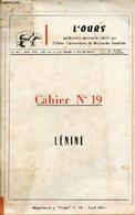 Supplément à L'Ours N°19 Avril 1971 - Lénine. - Collectif - 1971 - Biographie