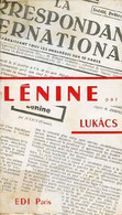 Lénine. - Lukacs Georg - 1971 - Biographie