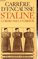 """Staline - L'Ordre Par La Terreur (Collection """"Champs"""", N°73) - Carrère D'Encausse Hélène - 1979 - Biographie"""
