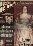 Deutsche Illustrierte, N°12 (21 Mars 1953) : Wenn Die Begum Lächelt / Ich War Malenkows Vertrauter / Mein Onkel Joseph S - Dictionaries, Thesauri
