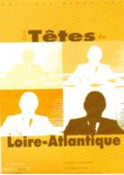 """Carte Postale """"Cart'Com"""" - Série """"Divers, Presse, Média,..."""" - Les Têtes De Loire-Atlantique (5e édition) Nantes - Advertising"""