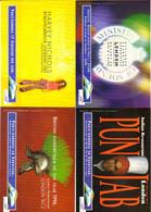 """4 Cartes Postales """"Cart'Com"""" - Série """"Divers, Presse, Média,..."""" Paris-Londres En Eurostar (train) SNCF - Advertising"""