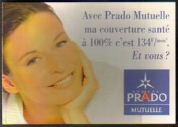 "Carte Postale Double ""Cart'Com"" - Série ""Divers, Presse, Média,..."" - Prado Mutuelle (assurance) Marseille - Advertising"