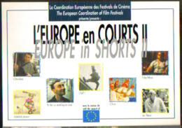 """Carte Postale """"Cart'Com"""" - Série """"Divers, Presse, Média,..."""" - L'Europe En Courts II (cinéma - Film) Alès - Advertising"""