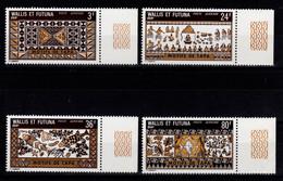 Wallis Et Futuna - YV PA 58 à 61 N** Luxe , Artisanat Cote 19,70 Euros - Unused Stamps