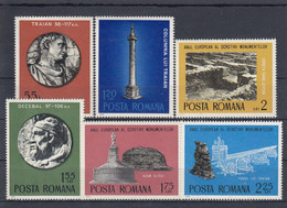 ROMANIA 3267-3272,unused - Archeologie