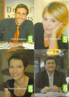 "4 Cartes Postales ""Cart'Com"" (2002) - France 5 (Frédéric Ferney, Maïténa Biraben, Nathalie Le Breton, Paul Amar) - Advertising"