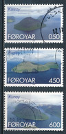 °°° FOROYAR FAROE ISLANDS - Y&T N°352/55/56 - 1999 °°° - Féroé (Iles)