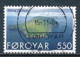 °°° FOROYAR FAROE ISLANDS - Y&T N°479 - 2004 °°° - Féroé (Iles)