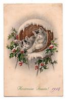 (chats) 390, MM Vienne, Heureuse Année - Katten