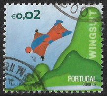 Portugal – 2015 Extreme Sports 0,02 Used Stamp - Used Stamps
