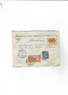 Enveloppe St Gervais Sur Mare (34) Avec 4 Cachets De Cire Au Verso - Historical Documents
