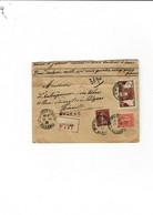 Enveloppe Saint Gervais Sur Mare (34) Avec 5 Cachets De Cire Au Verso - Historical Documents