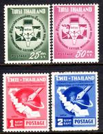 Thailand 1961 International Correspondence Week Unmounted Mint. - Tailandia