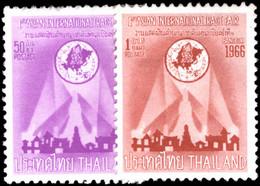 Thailand 1966 International Trade Fair Unmounted Mint. - Tailandia