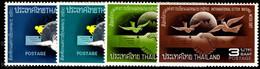 Thailand 1967 International Correspondence Week Unmounted Mint. - Tailandia