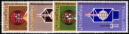 Thailand 1968 International Correspondence Week Unmounted Mint. - Tailandia