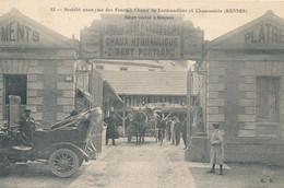 Rennes (35 Ille Et Vilaine) Fours A Chaux De Lormandière Et Chaussarie - édit. RR N° 42 Circulée 1908 - Rennes
