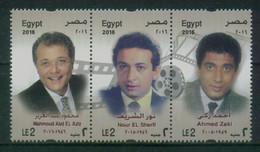 EGYPT / 2016 / FAMOUS EGYPTIAN CINEMA STARS / FILM / ACTORS / CINEMA / MOVIES / MNH / VF - Nuovi