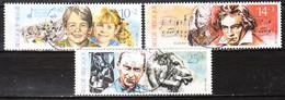 2387/89  Culturelle - Série Complète - Oblit. Centrale - LOOK!!!! - Used Stamps