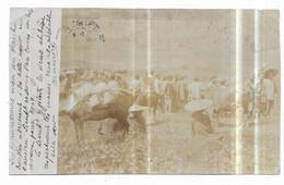 Tonkin Carte Photo Agriculture Les Populations Méos Du Haut Tonkin Dans Les Champs 24/12/1902 - Vietnam