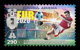 Armenia 2021 Mih. 1204 UEFA European Football Championship EURO 2020 MNH ** - Armenien