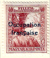 FD Arad ( Hongrie) Occupation Française / Hungary * (MH )  1919  N°3 - Unused Stamps