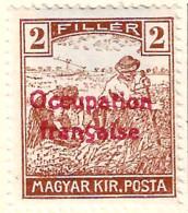 FD Arad ( Hongrie) Occupation Française / Hungary * (MH )  1919  N°4 - Neufs