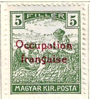 FD Arad ( Hongrie) Occupation Française / Hungary * (MH )  1919  N°6 - Unused Stamps
