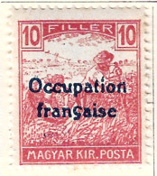 FD Arad ( Hongrie) Occupation Française / Hungary * (MH )  1919  N°8 - Unused Stamps