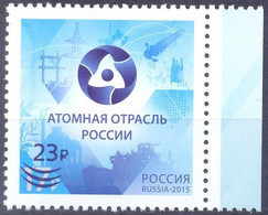 2020. Russia, Nuclear Industry, Stamp With OP, Mint/** - Ungebraucht
