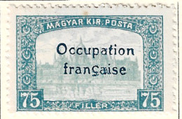 FD Arad ( Hongrie) Occupation Française / Hungary * (MH )  1919  N°16 - Unused Stamps