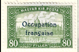 FD Arad ( Hongrie) Occupation Française / Hungary * (MH )  1919  N°17 - Unused Stamps