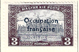 FD Arad ( Hongrie) Occupation Française / Hungary * (MH )  1919  N°20 - Unused Stamps