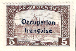 FD Arad ( Hongrie) Occupation Française / Hungary * (MH )  1919  N°21 - Unused Stamps