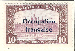 FD Arad ( Hongrie) Occupation Française / Hungary * (MH )  1919  N°22 - Unused Stamps