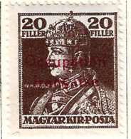 FD Arad ( Hongrie) Occupation Française / Hungary * (MH )  1919  N°24 - Unused Stamps