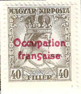 FD Arad ( Hongrie) Occupation Française / Hungary * (MH )  1919  N°26 - Unused Stamps
