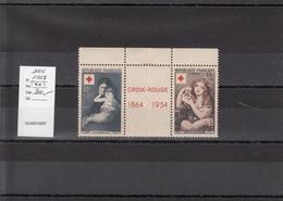 YT1006 Et 1007 (**) Neufs - Paire Du Carnet Avec Vignette Centrale - Unused Stamps