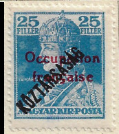 FD Arad ( Hongrie) Occupation Française / Hungary * (MH )  1919  N°33 - Unused Stamps