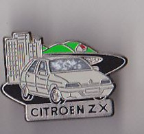 PIN'S METAL  THEME  VOITURE CITROEN   ZX  SIGNE  DECAT - Citroën