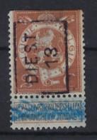 PELLENS Type Staande Leeuw Nr. 109 Voorafgestempeld Nr. 2207 A  DIEST  13 ; Staat Zie Scan ! - Roller Precancels 1910-19