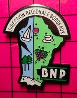 SP16 Pin's Pins / Beau Et Rare / THEME : BANQUES / BNP La Banque Aux Amendes Monstrueuses ! DIRECTION REGIONALE BORDEAUX - Banche