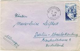 805 CONQUES SUR LETTRE - 1921-1960: Période Moderne