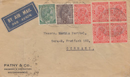 India: 1936: Air Mail Secunderabat To Gera/Germany - Non Classificati