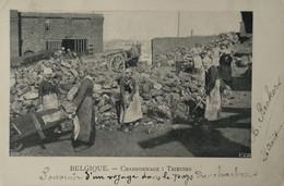 Belgique Charbonnage (Mining - Mine) Trieuses 1903 - Mines