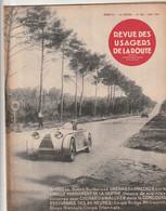 Rare Magnifique Revue Des Usagers De La Route Couverture Le Mans 24 Heures Mai 1931 - Automobili